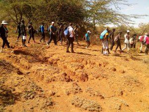 Hiking Kenya